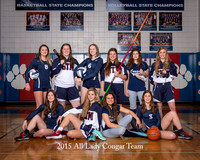 2015 -16 All Lady Cougar Team