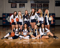 2018 All Lady Cougar Team